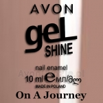Żelowy lakier do paznokci On A Journey Avon geL SHINE