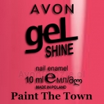 Żelowy lakier do paznokci Paint The Town Avon geL SHINE
