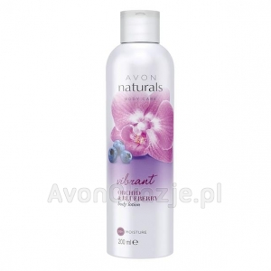 Balsam do Ciała Jagoda i Orchidea 200 ml Avon Naturals