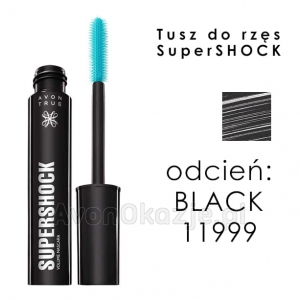 Tusz do Rzęs SuperShock BLACK Avon