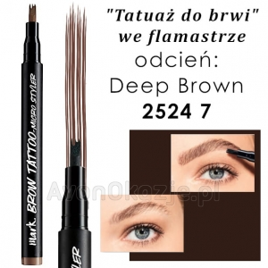 Tatuaż do Brwi we flamastrze DEEP BROWN Avon