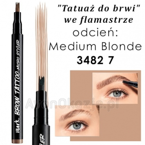 Tatuaż do Brwi we flamastrze MEDIUM BLONDE Avon