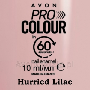 Lakier do paznokci Pro Colour 60 seconds HURRIED LILAC (10 ml) Avon