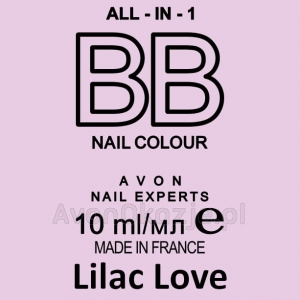 Lakier BB do Paznokci 7w1 LILAC LOVE (10 ml) Avon