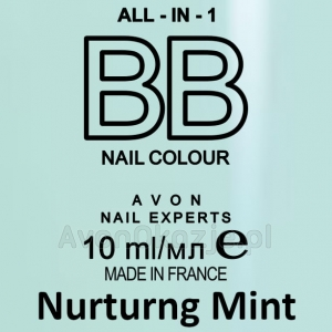 Lakier BB do Paznokci 7w1 NURTURNG MINT (10 ml) Avon