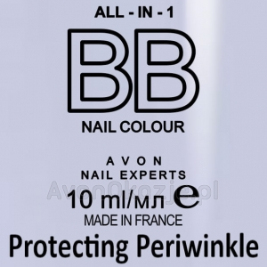 Lakier BB do Paznokci 7w1 PROTECTING PERIWINKLE (10 ml) Avon
