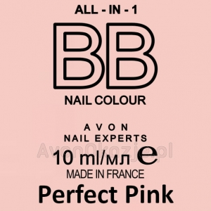 Lakier BB do Paznokci 7w1 PERFECT PINK Avon