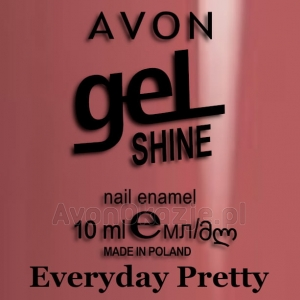 Żelowy lakier do paznokci Everyday Pretty Avon geL SHINE