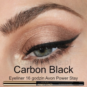 Eyeliner 16 godzin CARBON BLACK Avon Power Stay