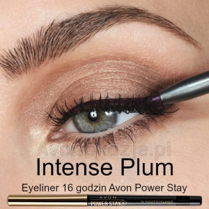 Eyeliner 16 godzin INTENSE PLUM Avon Power Stay