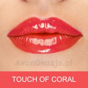 Lakier-olejek do ust TOUCH OF CORAL Avon LOADED