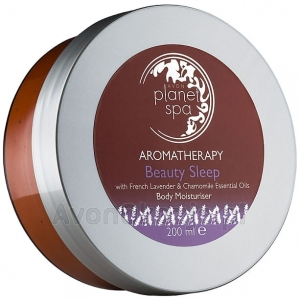 Balsam do Ciała Aromaterapia z lawendą i rumiankiem Avon Planet Spa Aromatherapy Beauty Sleep