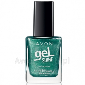 Perłowy Żelowy lakier do paznokci ALL WRAPPED UP Avon geL SHINE