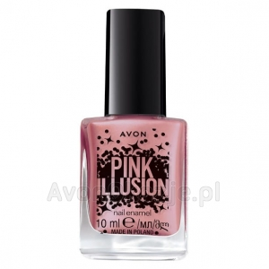 Lakier do paznokci GLAM ROCK Avon Pink Illusion