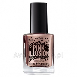Lakier do paznokci METALLIZE ME Avon Pink Illusion