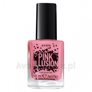 Lakier do paznokci SHEER GLOW Avon Pink Illusion