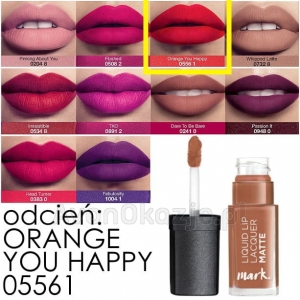 Matowa Szminka w Płynie ORANGE YOU HAPPY Avon mark