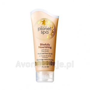 Odżywczy Peeling do Rąk i Stóp 75 ml Avon Planet Spa