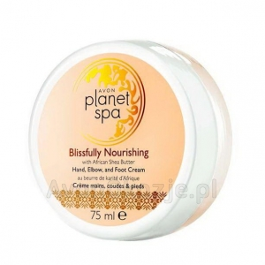 Odżywczy Krem do Rąk Stóp i Łokci 75 ml Avon Planet Spa