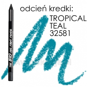 Żelowa Kredka do Oczu TROPICAL TEAL Avon BIG