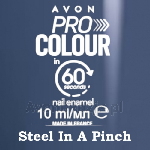 Lakier do paznokci Pro Colour 60 seconds STEEL IN A PINCH - Avon