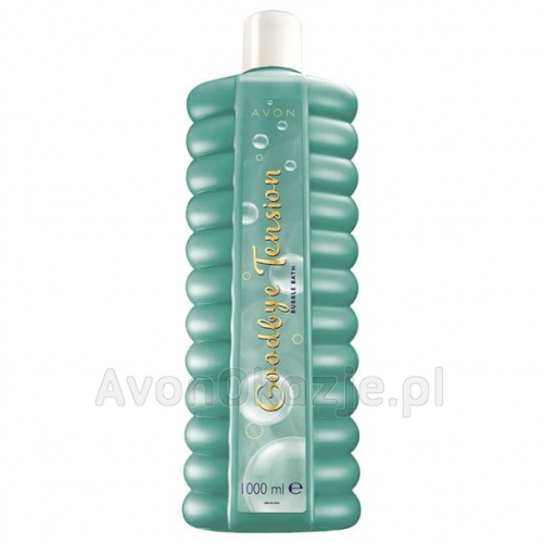 Płyn do kąpieli Goodbye Tension Mandarynka Lawenda Piżmo (1000 ml) Avon Bubble Bath