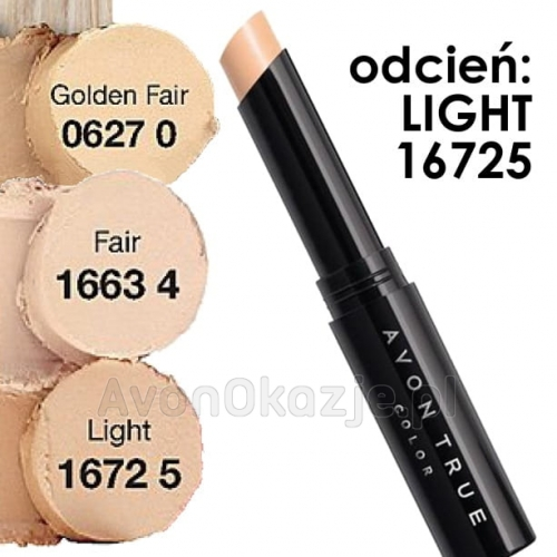 Avon True Colour Korektor w sztyfcie LIGHT 1,8 g (16725).jpg