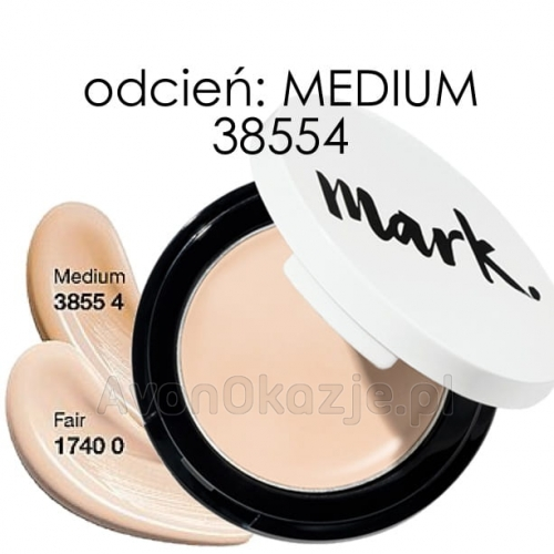 Avon mark. Korektor Kremowy Idealna cera w kompakcie MEDIUM 1,4 ml (38554).jpg