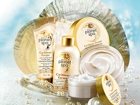 Avon Planet Spa Caribbean Escape