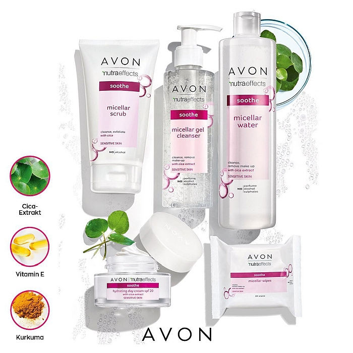 Avon nutra effects soothe